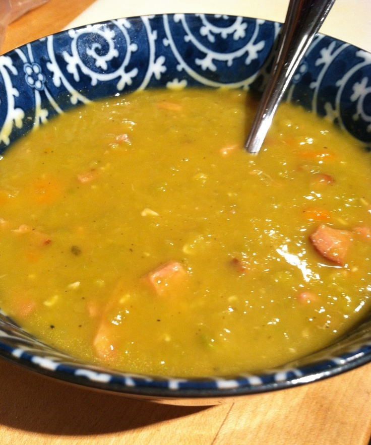 pea soup with ham | my recipes | Pinterest
