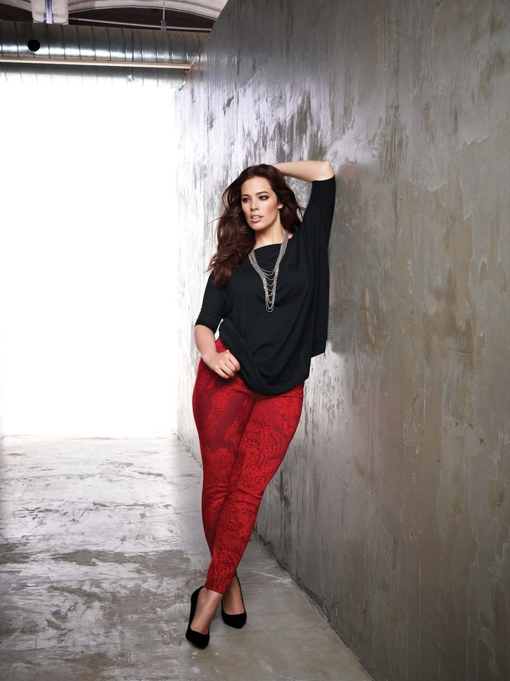 http://curvyisthenewblack.tumblr.com/ esta-flight-noite: Ashley Graham para adição Elle