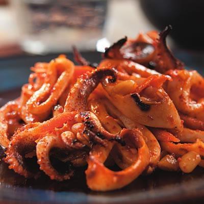 Grilled Squid Salad | lulu | Pinterest