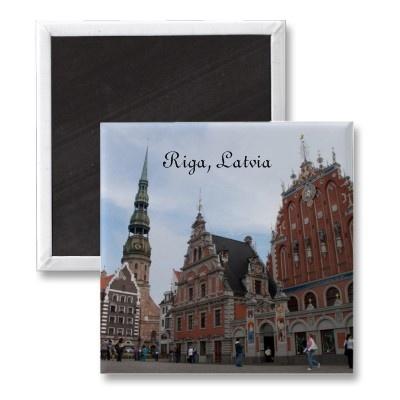 Riga Magnet by claudiaf65 sold to Axel  Beelitz, Germany