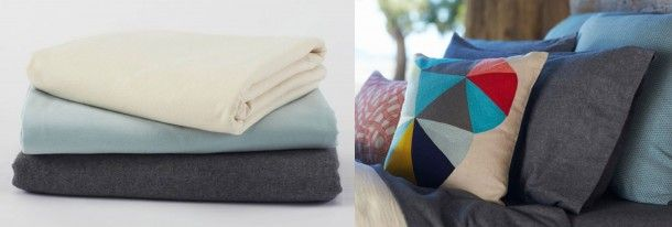 Cozy Up With Organic Cotton Flannel Sheets | @COYUCHI | Organic Spa Magazine