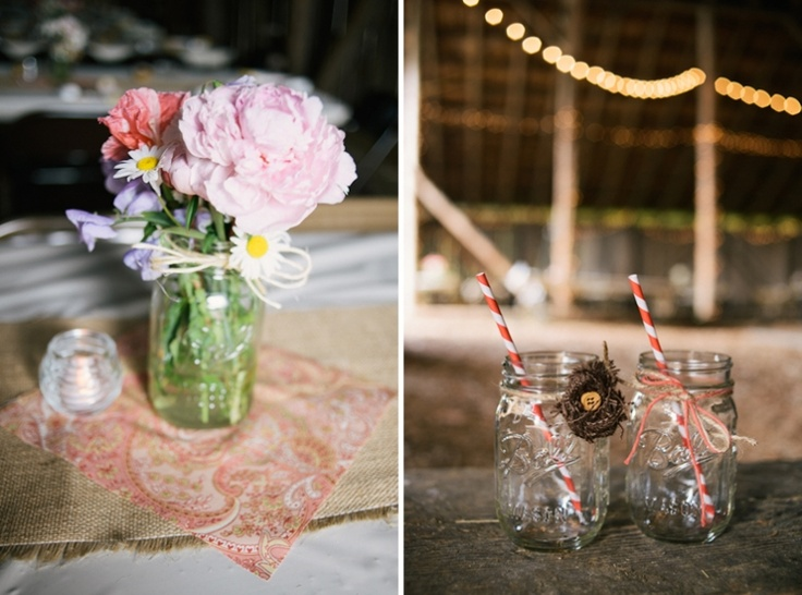 Mason Jar Barn Wedding Gift Giving Ideas Pinterest