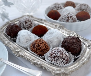 Rum Ball is an excellent and easy, no-bake dessert to bring for the ...