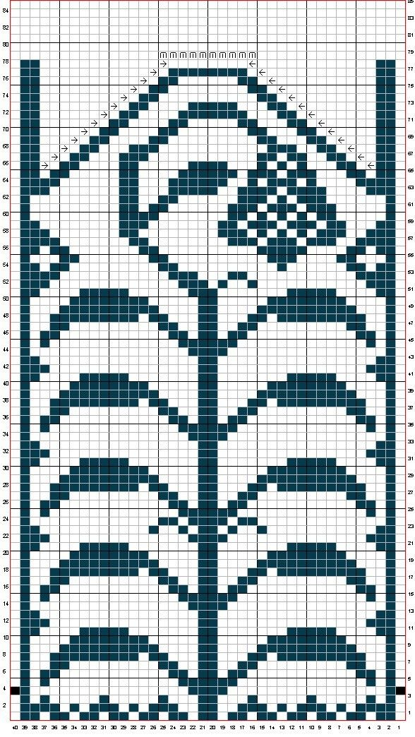 How To Follow Knitting Pattern Grid ~ anaf.info for .