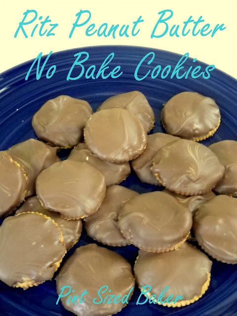 ritz peanut butter no bake cookies. I made these right after I pinned ...
