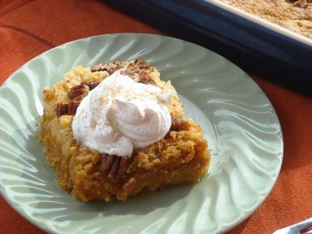 Pumpkin crunch bars | Desserts | Pinterest
