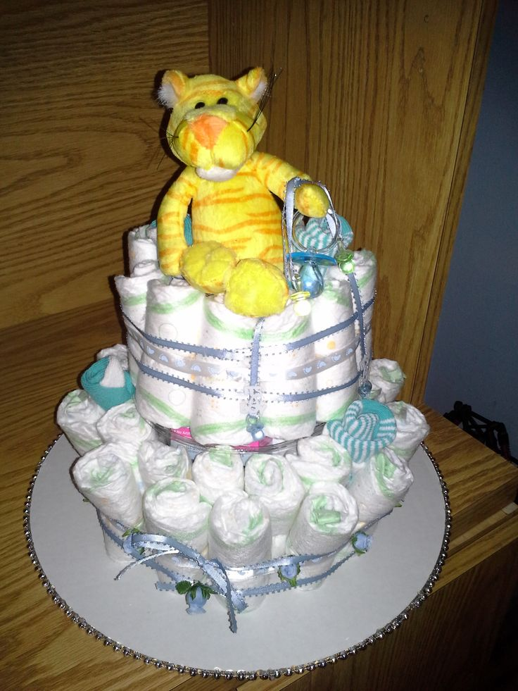 Diaper Cake Decorating Ideas : Living Room Decorating Ideas: Pinterest Baby Shower Ideas ...