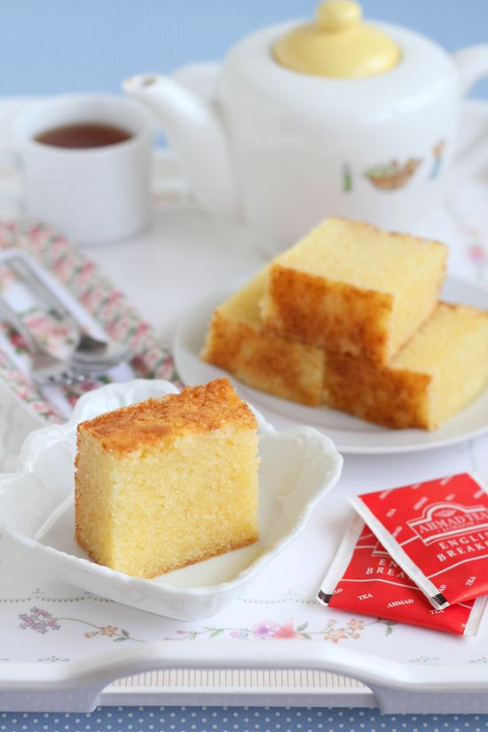 butter almond cake | non-layer cakes | Pinterest