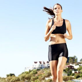 Running regiment to lose 10 pounds in six weeks.