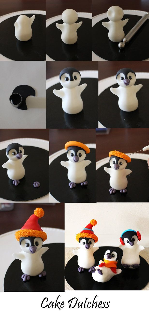 Edible Penguin step by step by Naera on deviantART