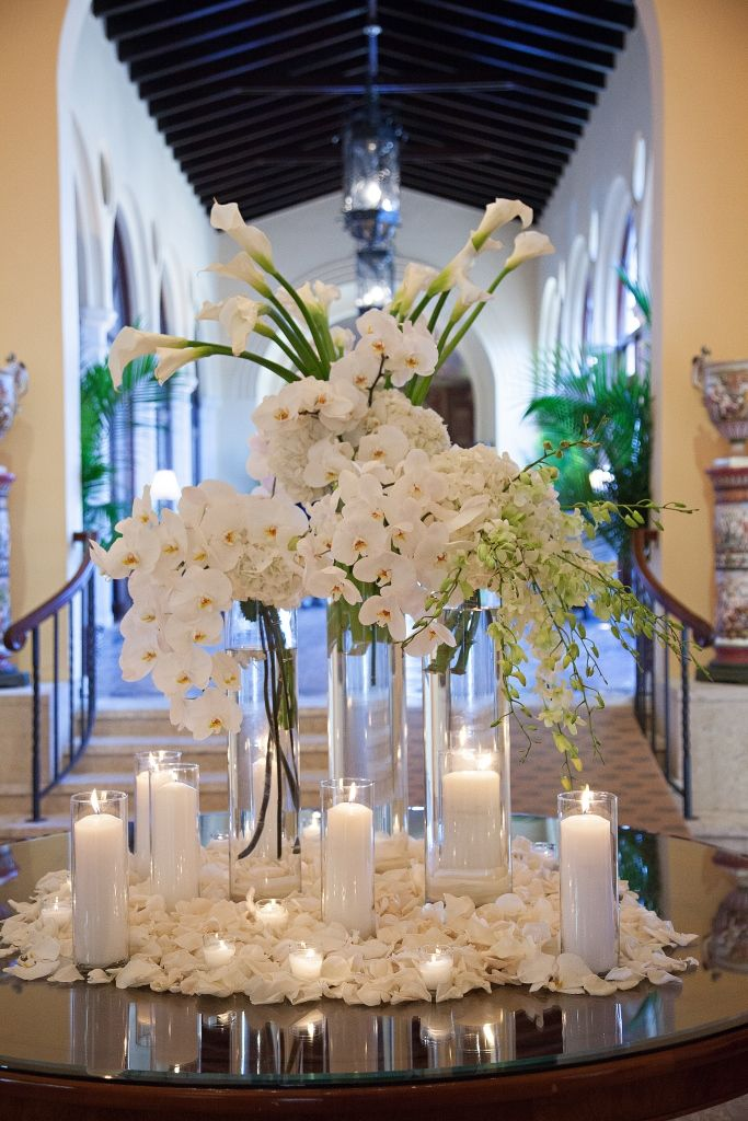 Pin By Ocean Flowers Miami On Wedding Centerpieces Pinterest
