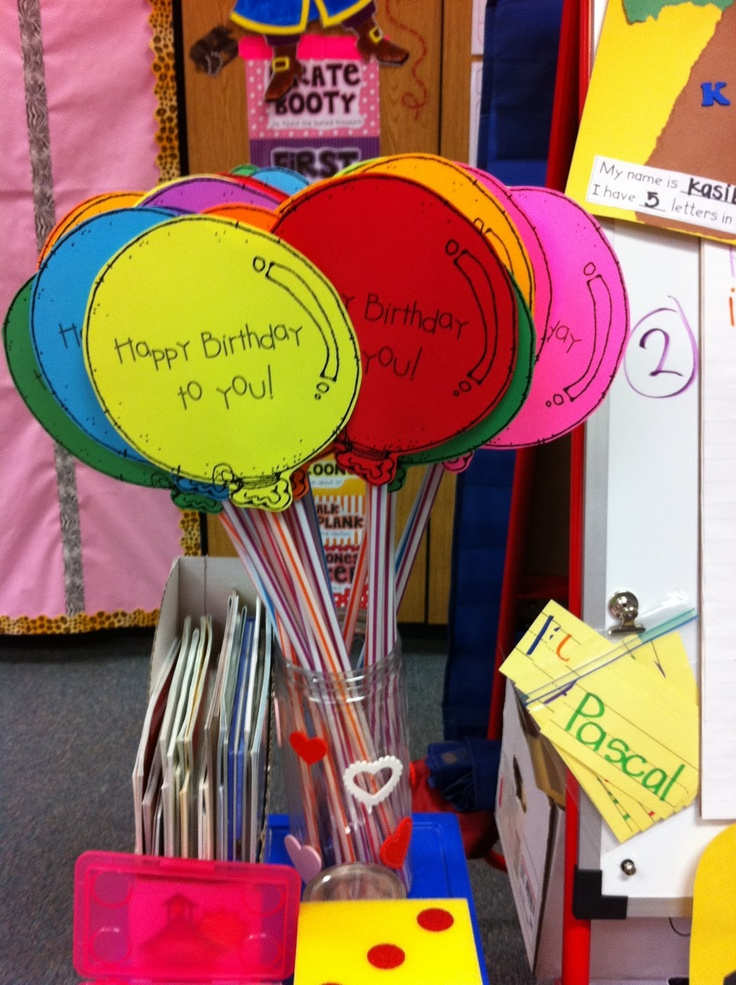 Classroom Birthday Ideas : Mrs crofts classroom ideas to celebrate a student birthday