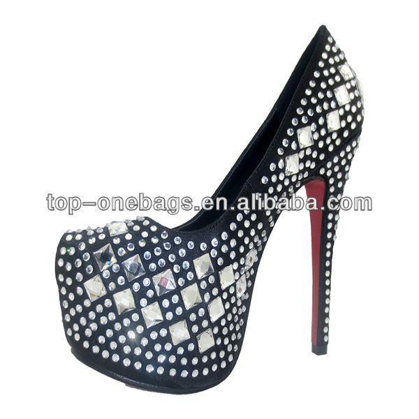 2014 women platform unique design high heel shoes wholesales