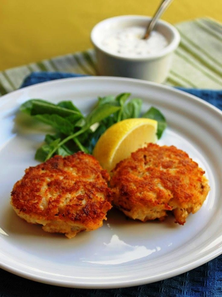 Maryland Crab Cakes - Best Crab Recipes. | New Food | Pinterest