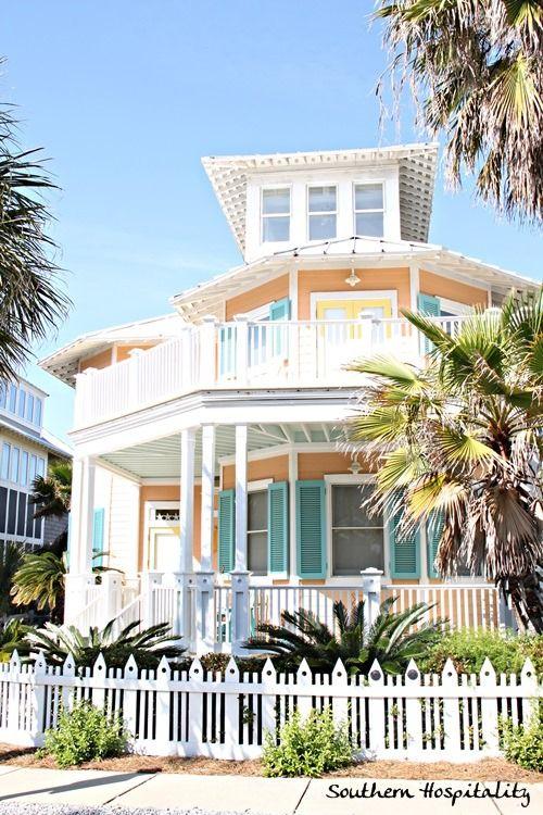 Florida Beach Cottage Beach Homes Pinterest