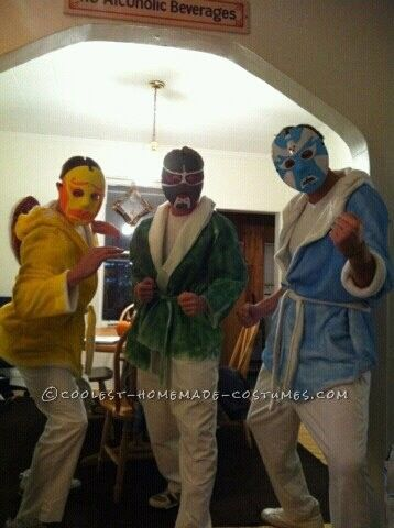 Coolest Group Costume From The Movie 3 Ninjas