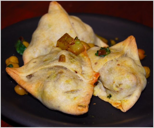 corn and chickpea samosas recipes dishmaps spiced corn and chickpea ...