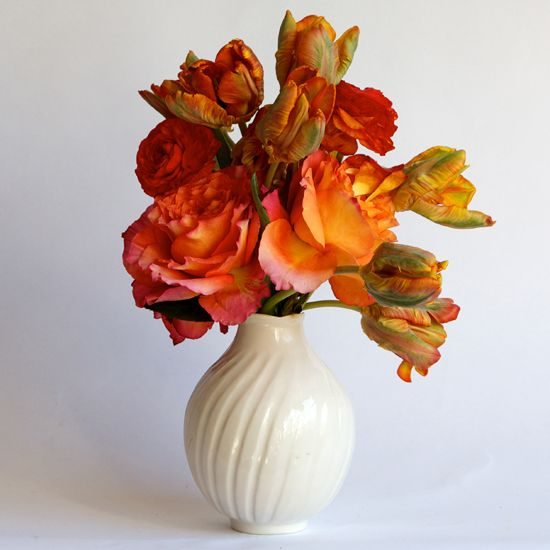 Bud Vase: Scallop from francespalmerpottery.com