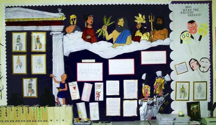 Ancient History Classroom Decorations : Ancient greeks displays pinterest