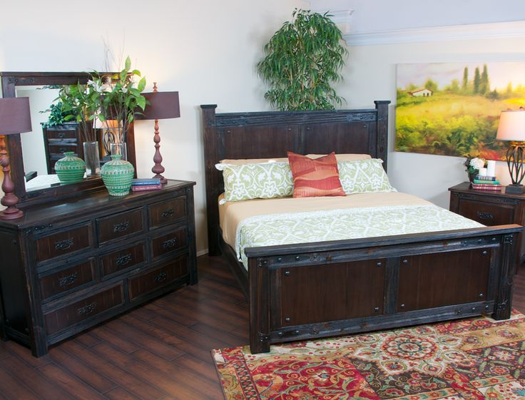 Pine Valley Rustic Master Bedroom Collection  Jeromes Furniture