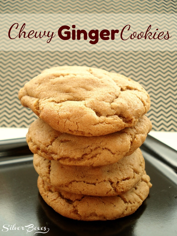 Silver Boxes: Chewy Ginger Cookies | All things ginger | Pinterest