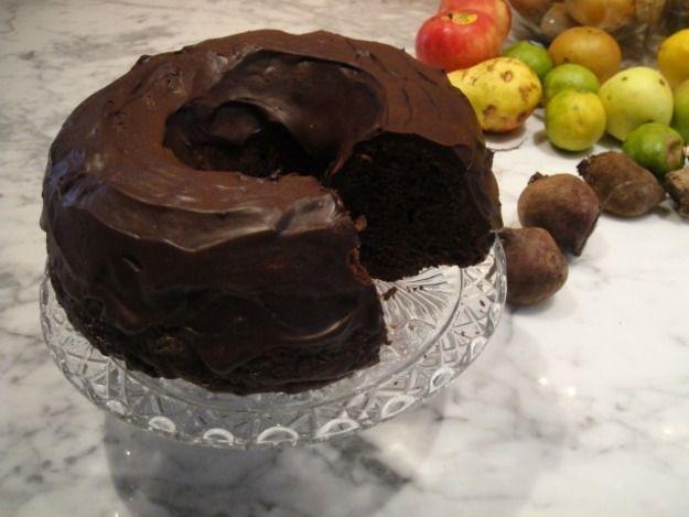 Farmer's Secret Chocolate Bundt Cake (beets and zucchini...shh!)