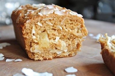 Pineapple Coconut Bread | Nutty for Coconut | Pinterest