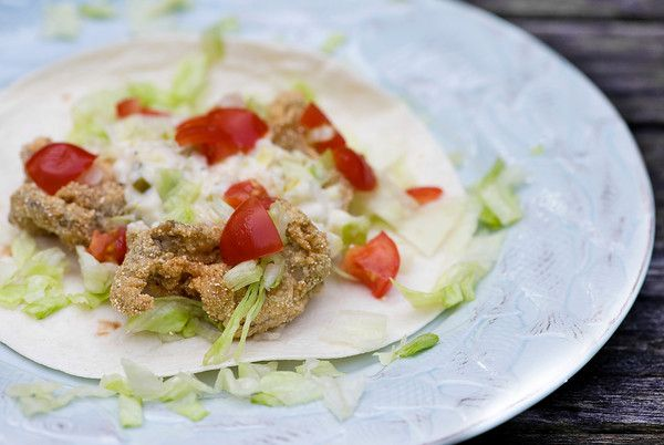 Fried Oyster Tacos | Recipe