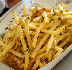 Herb and Garlic Truffle Fries, **From Frozen French Fries!!**