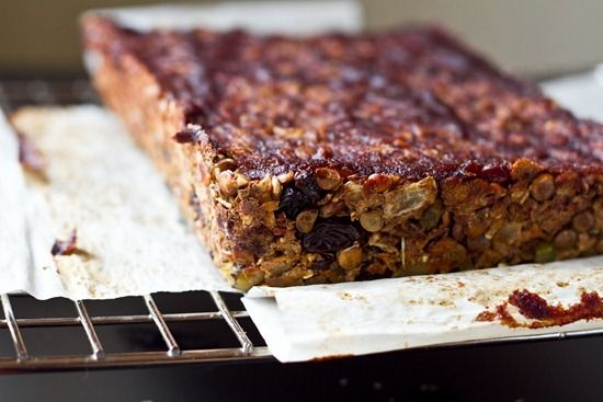 Lentil Walnut Loaf with Sweet Potato #vegan #sweetpotato