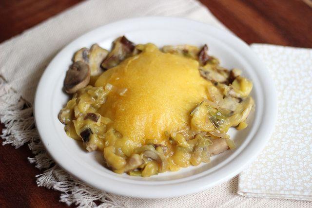 Shepherd's Pie with mushrooms and leeks #mushroom #leek #shepherd ...