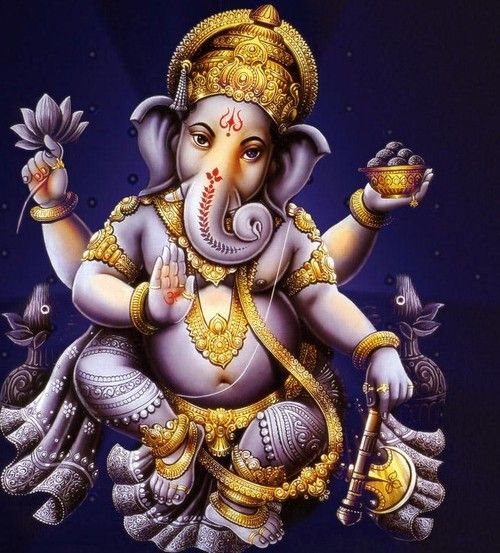 of a human. Ganesh is the god of Everyman ...