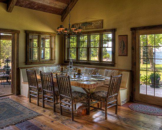 Rustic Interior Wood Trim