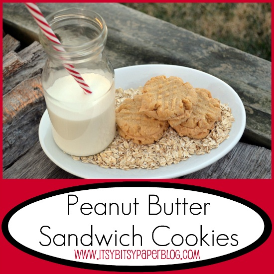 ... Paper: . . . Cookie Time Tuesday--Peanut Butter Sandwich Cookies