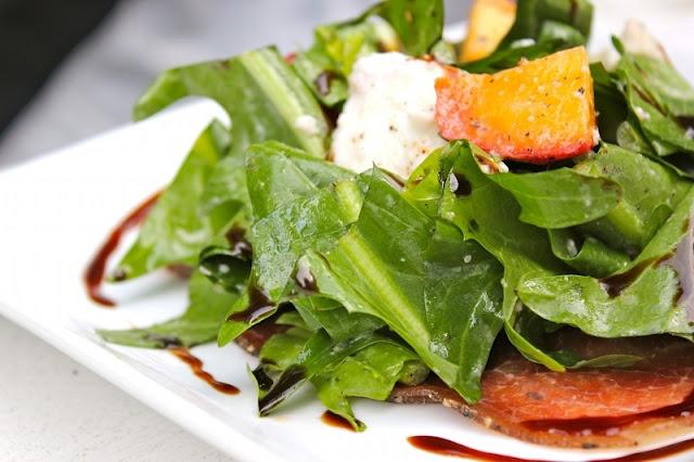 Grilled Brassica With Dandelion-Green Vinaigrette Recipes — Dishmaps