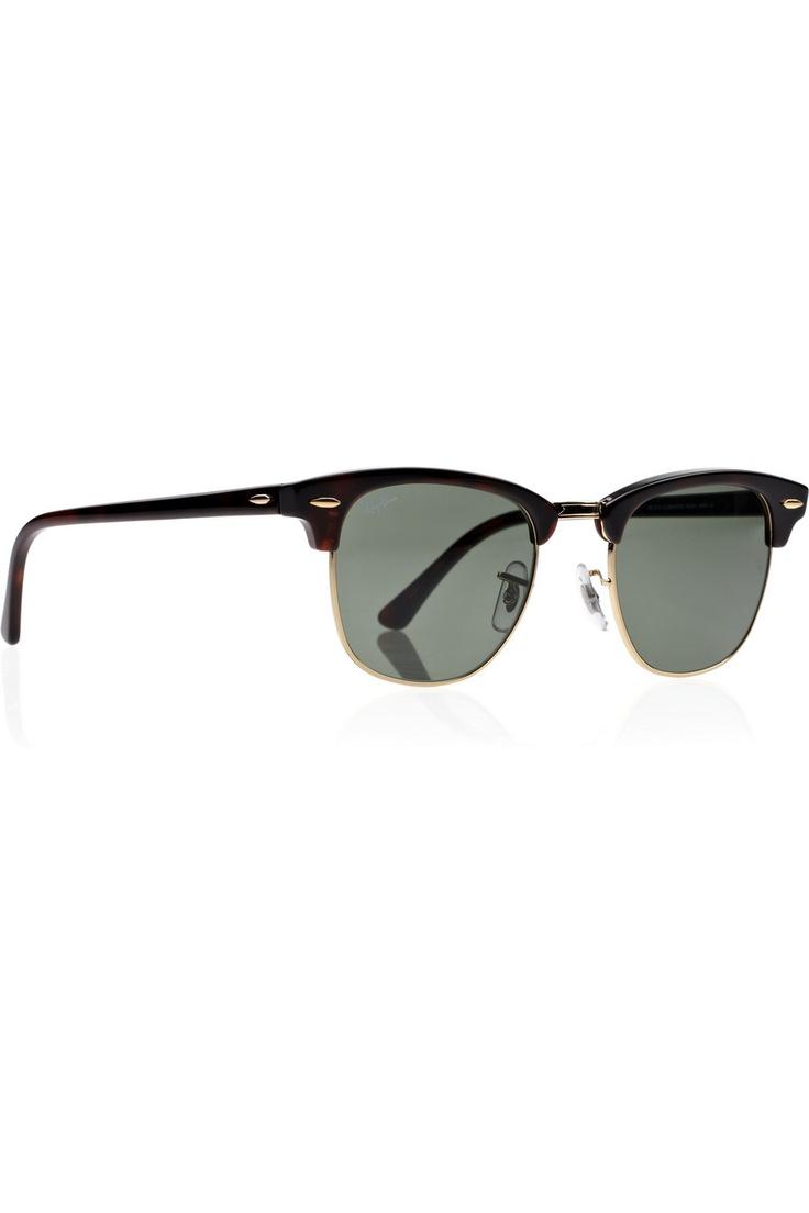 Half Frame Clubmaster Glasses : Clubmaster half-frame acetate sunglasses