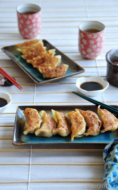 Chicken Pot Stickers | Yum! Chicken, etc. | Pinterest