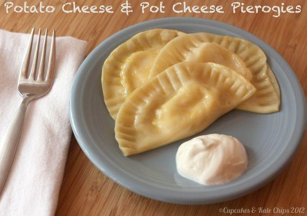 Pot Cheese & Potato Cheese Pierogies for Christmas Eve - Cupcakes ...