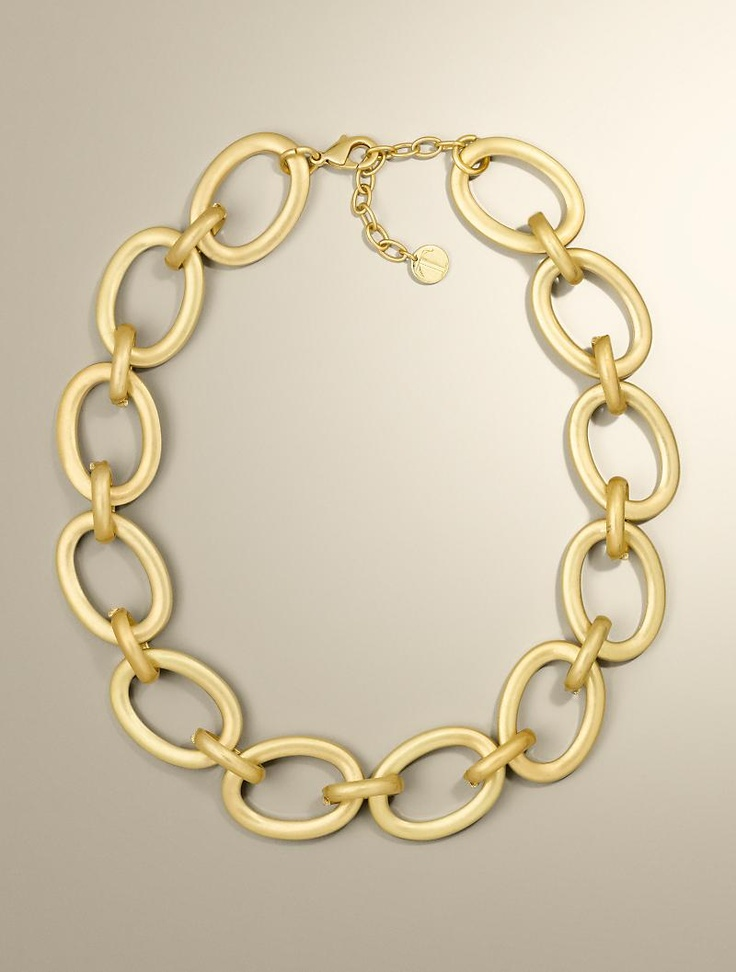 talbots link necklace jewelry