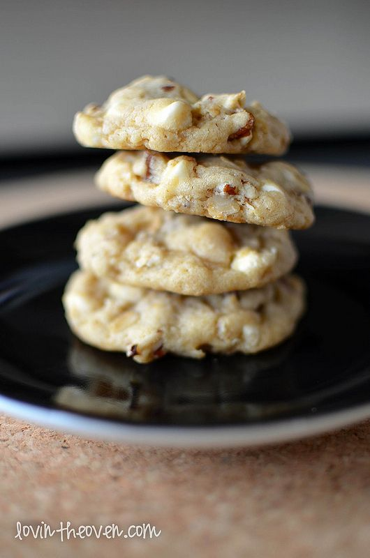 Lovin' From The Oven:White Chocolate Chip Oatmeal Cookies - Lovin ...