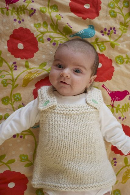 Knitting Pattern For Baby Frock : baby frock Knit: for Kids Pinterest