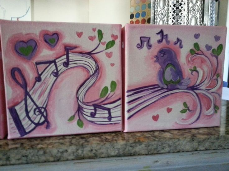 Music Inspired Wall Decor : Music themed nursery wall art diy decor