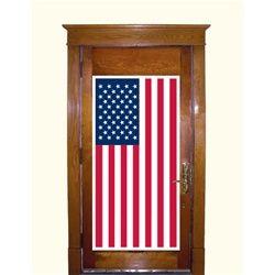 american flag door