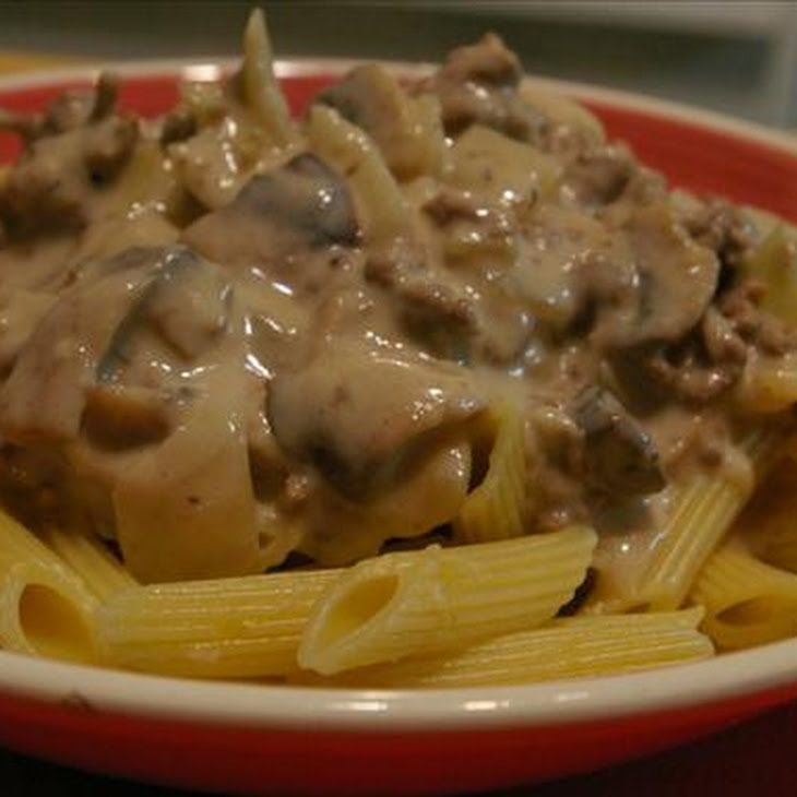 Easy Hamburger Stroganoff | Recipes | Pinterest
