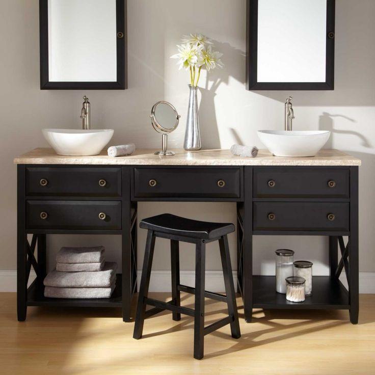 bathroom decor brilliant bathroom vanity mirrors decoration black wall