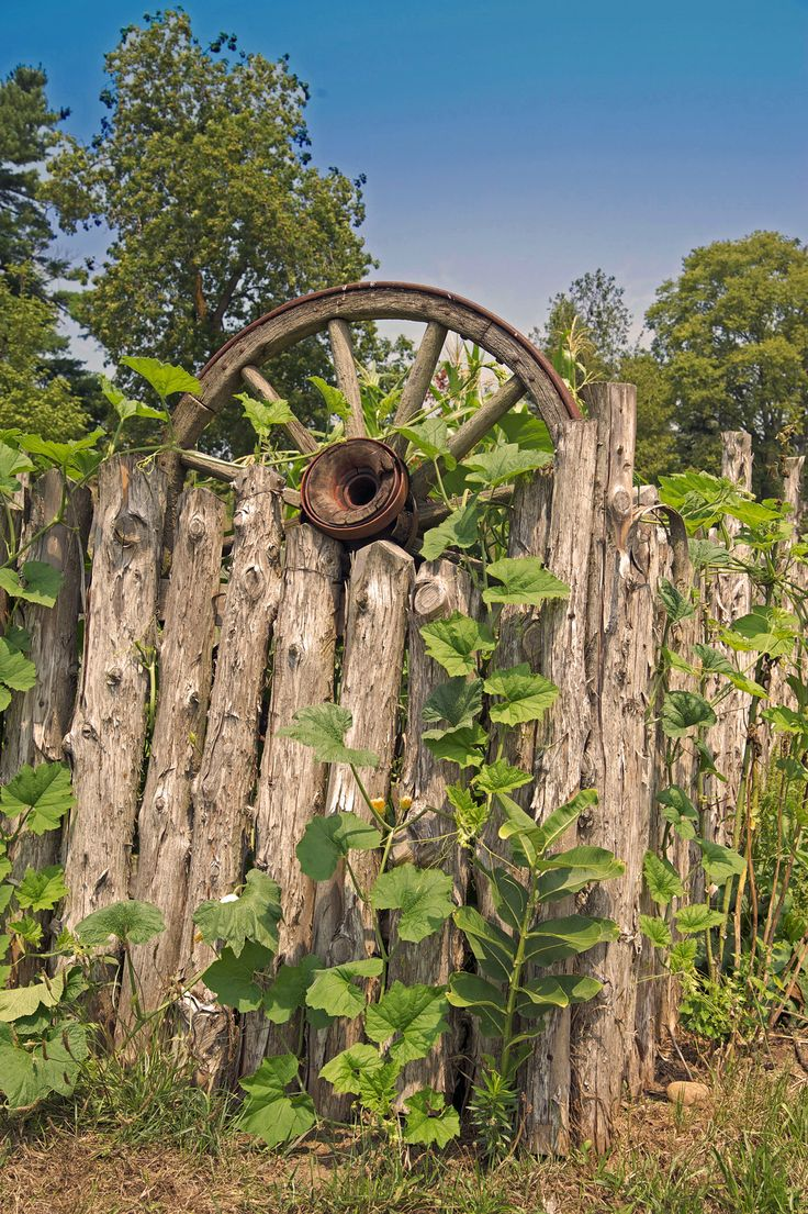 Whimsical fence designs joy studio design gallery best for Rustic garden gate designs