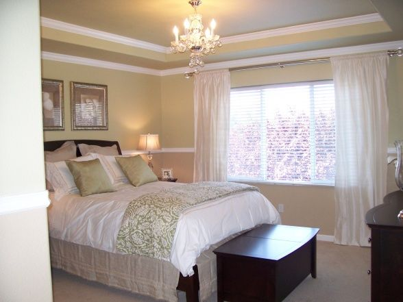 Romantic Master Bedroom The Palette Was Kept Simple So That The Space