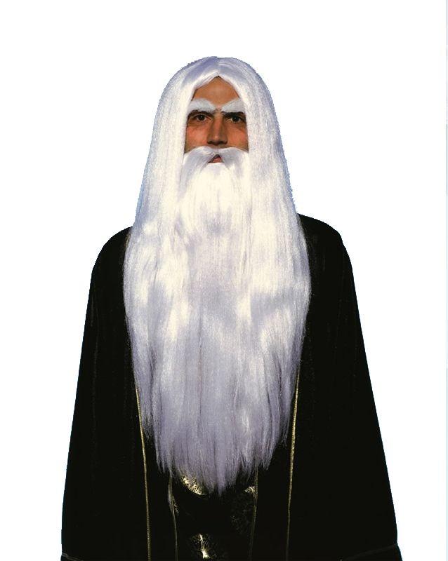Merlin Beard Wig 96