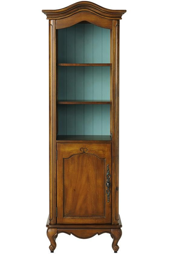 Provence Linen Cabinet in Chestnut with Blue from Home Decorators ($ ...