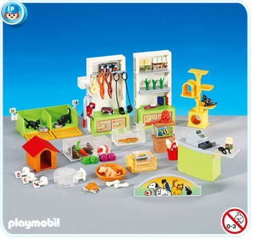playmobil pet store interior 6221 by playmobil